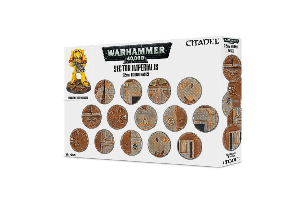 Sector Imperialis: 32 mm Round Bases