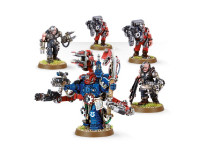 Space Marine Techmarine with Servitors